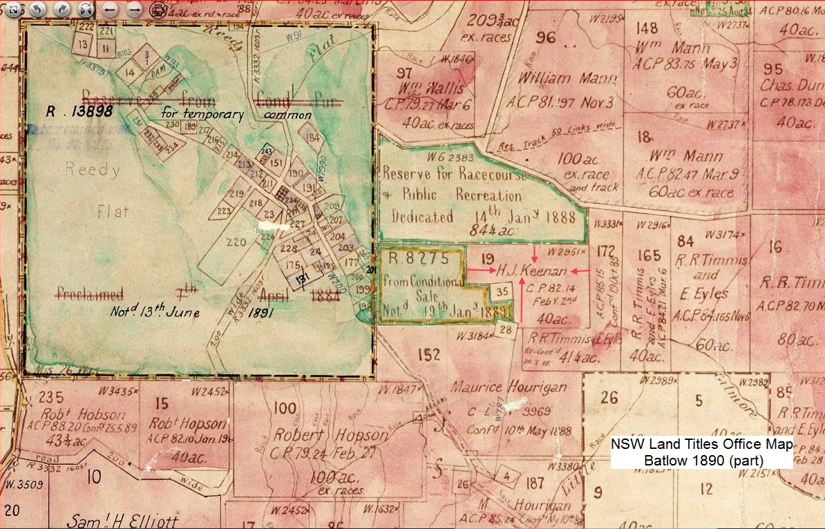 1890 Map batlow arrows and text